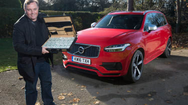 Volvo XC90 long-term test - final report header