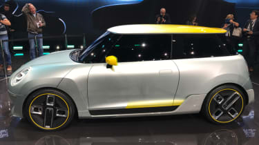 2019 MINI Electric Concept Frankfurt - passenger side