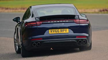 Porsche Panamera - rear cornering