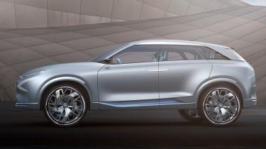 Hyundai FE Fuel Cell Concept - side