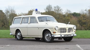 Volvo 121 Amazon police car - static