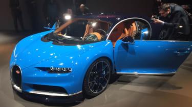 Bugatti Chiron Geneva 2016 - doors