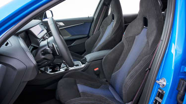 BMW M135i 2019 seats