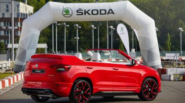 Skoda Sunroq - rear parked