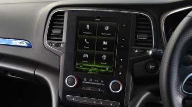 Renault Megane - infotainment screen