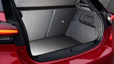 Vauxhall Corsa boot