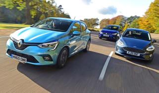 Renault Clio vs Ford Fiesta vs SEAT Ibiza