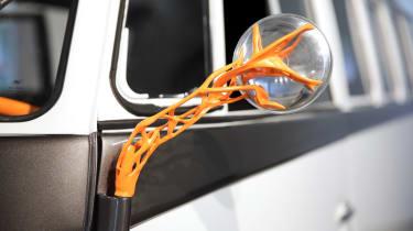 Volkswagen Kombi Type 20 concept - wing mirror