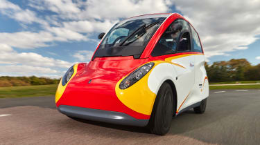 Shell Project M city car - front cornering 2
