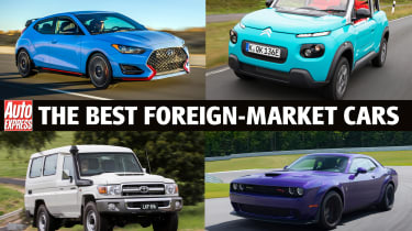 Best foreign market cars - header