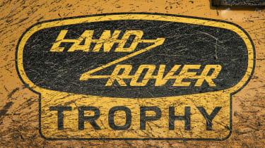 Land Rover Defender Works V8 Trophy - badge