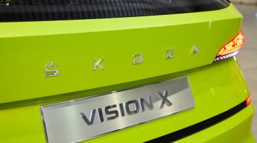 Skoda Vision X concept - rear detail