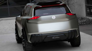 Nissan Xmotion Concept - rear view
