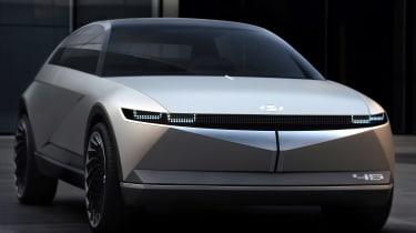 Hyundai 45 Concept- front