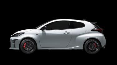 Toyota GR Yaris - side studio