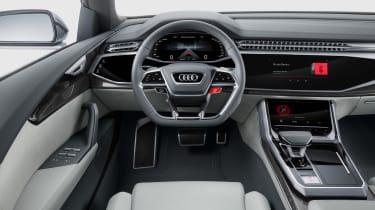 Audi Q8 SUV - interior