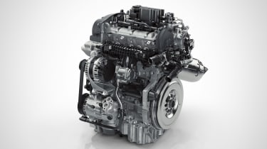 Volvo 40.1/40.2 concept 3cyl engine