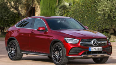 Mercedes GLC Coupe - front 3/4 static