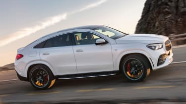 Mercedes-AMG GLE 53 Coupe - side tracking