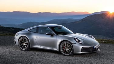 Porsche 911 - front static