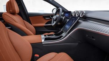 Mercedes C-Class All-Terrain - front seats