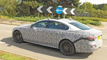 Jaguar XF spy - rear
