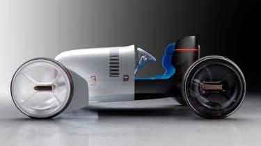 Mercedes Simplex Concept - side