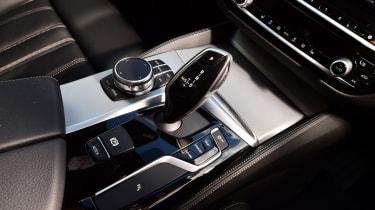 BMW 5 Series - centre console