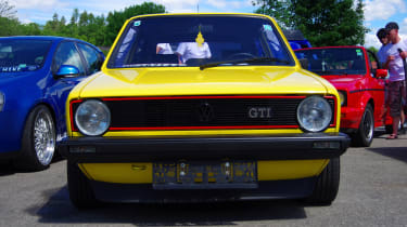Mk1 Golf GTI yellow