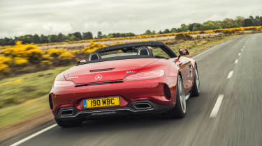 Mercedes-AMG GTC Cabriolet - rear tracking