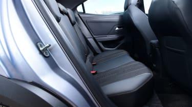 Vauxhall Mokka - rear seat