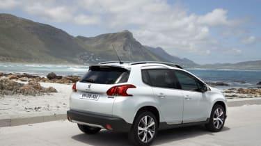 Peugeot 2008 rear static