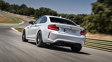BMW M2 Competition - rear action