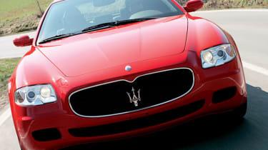 Front view of Maserati Quattroporte Sport GT