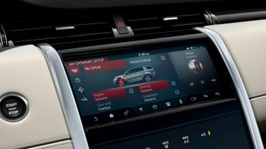 Land Rover Discovery Sport - infotainment