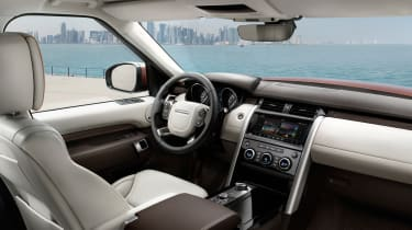Land Rover Discovery 2017 - official interior