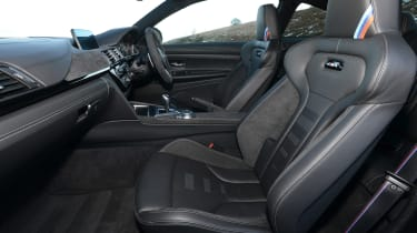 BMW M4 CS - front seats