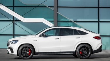 Mercedes-AMG GLE 63 S Coupe - side static