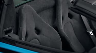McLaren 570S Spider Track Pack - seats
