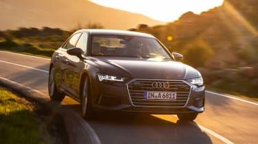 Audi A6 - twilight front
