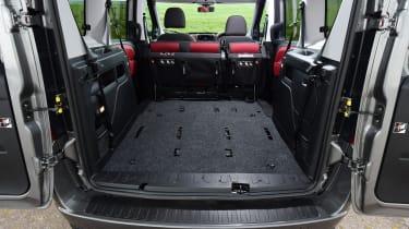 Fiat Doblo 2016 - boot