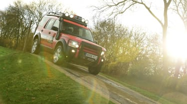 Land Rover Discovery Mk3 - front
