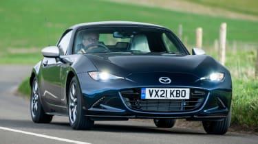 Mazda MX-5 Sport Venture - front cornering