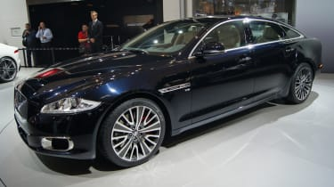 Jaguar XJ Ultimate Edition front three-quarters
