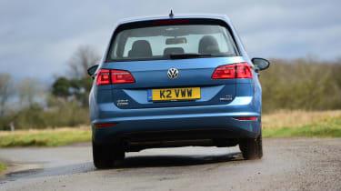 VW Golf SV BlueMotion tail