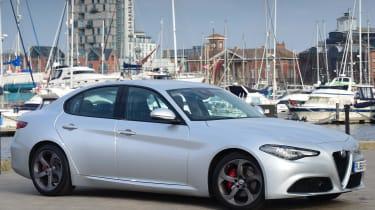 Alfa Romeo Giulia - Front Still