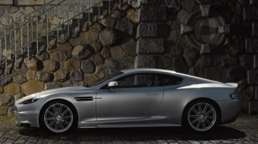The driver and the passenger will have to travel light as the aston only features a 186 litre boot space.