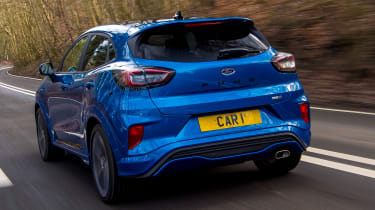 Ford Puma - rear tracking