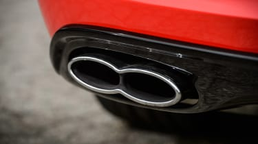 Bentley Continental GT V8 S coupe 2014 exhaust