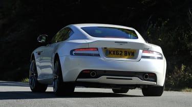 New Aston Martin DB9 rear cornering